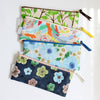 Pencil case pouch, Floral dots