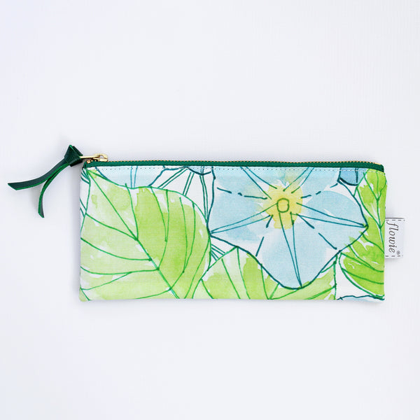 Pencil case pouch, Morning Glory