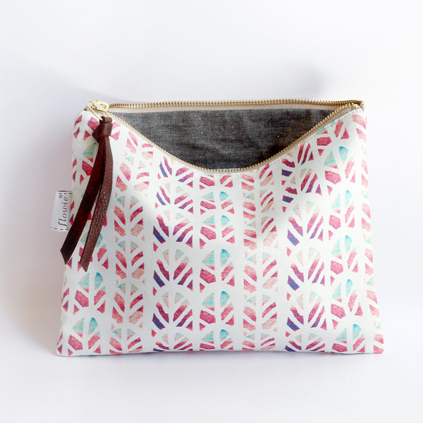 Large Zipper Pouch, Piper