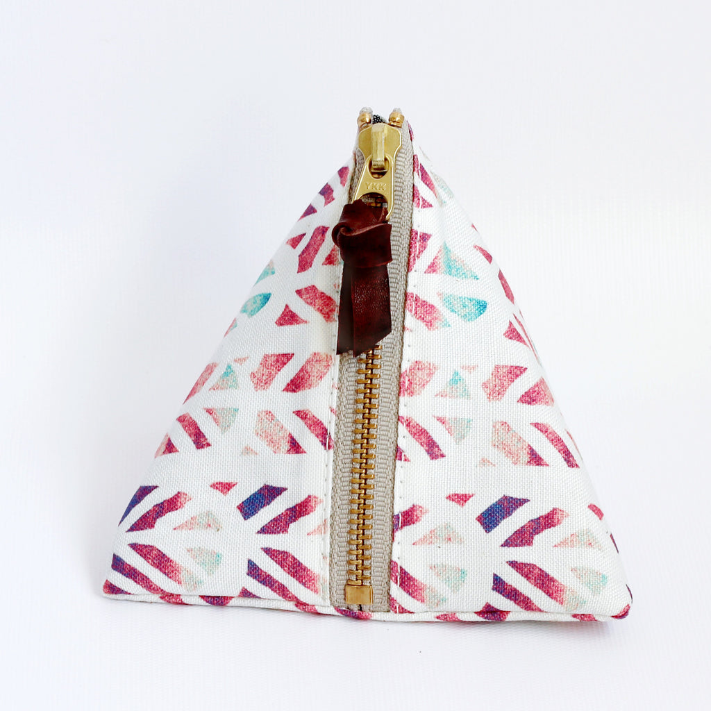 Triangle Zipper Pouch, Piper