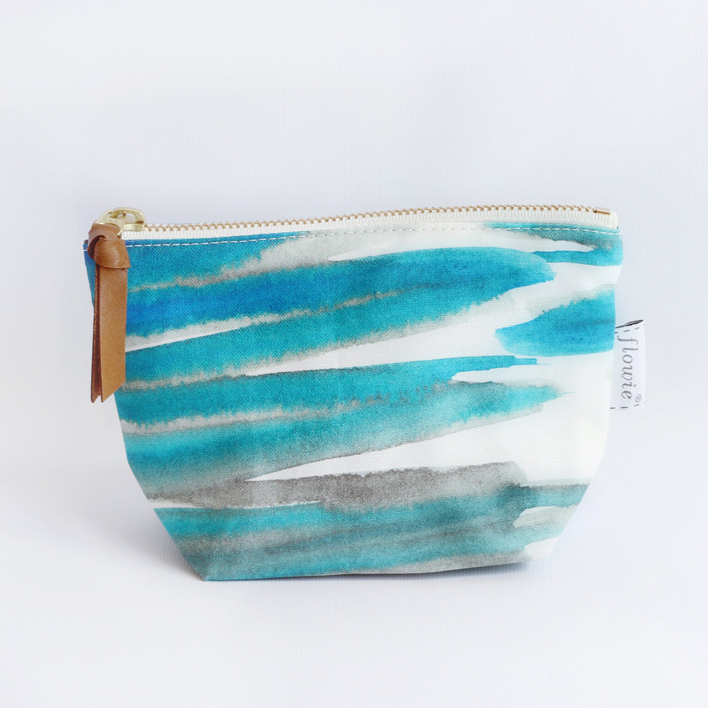 Zipper Pouch, Sea