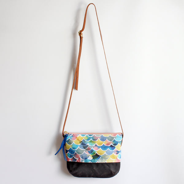 Crossbody Bag, Sunset ocean