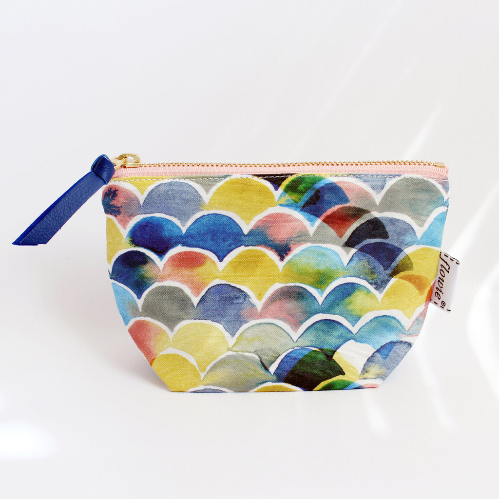 Zipper Pouch, Sunset ocean