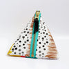 Triangle Zipper Pouch, Amelia
