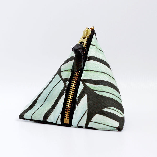 Triangle Zipper Pouch, Jamie