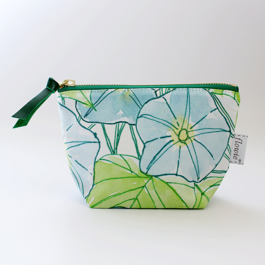 Zipper Pouch, Morning Glory