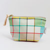 Zipper Pouch, Plaid