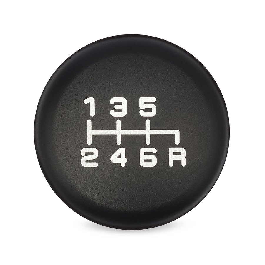 ESCO-T6 Shift Knob in Satin Black Anodized Finish