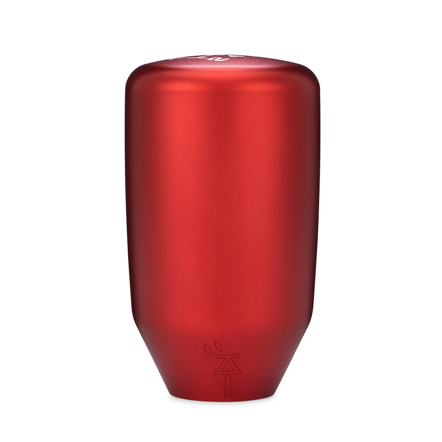 ESCO-T6 Shift Knob in Satin Red Anodized Finish