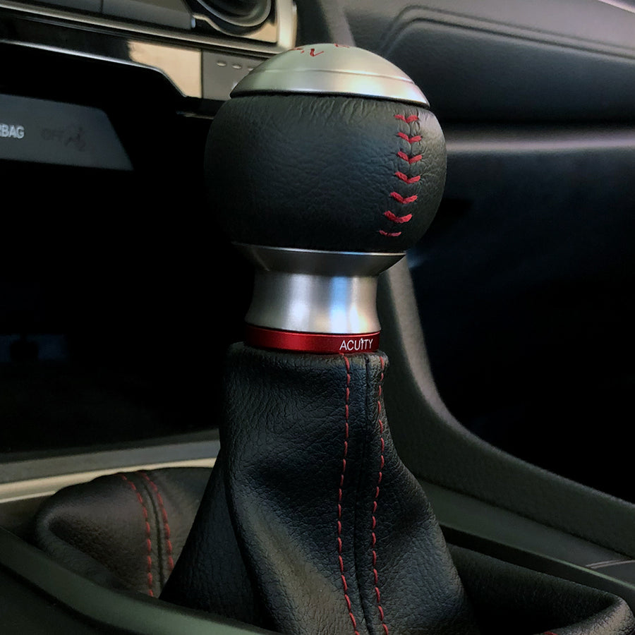 Shift Boot Collar Upgrade (Satin Red Aluminum Finish)
