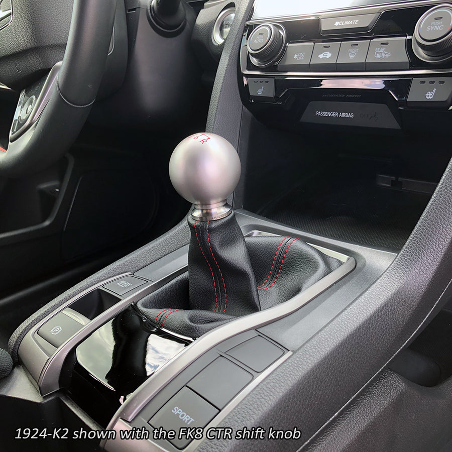 Shift Boot Collar Upgrade (Turned Stainless Finish)