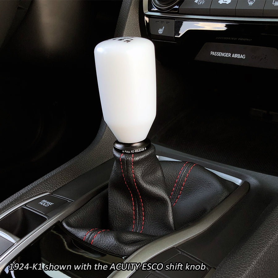Shift Boot Collar Upgrade (Satin Black Aluminum Finish)