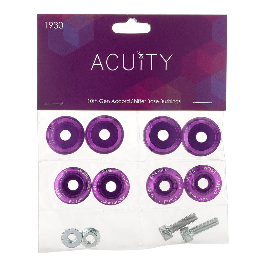 ACUITY Shifter Base Bushings for the 10th Gen Accord