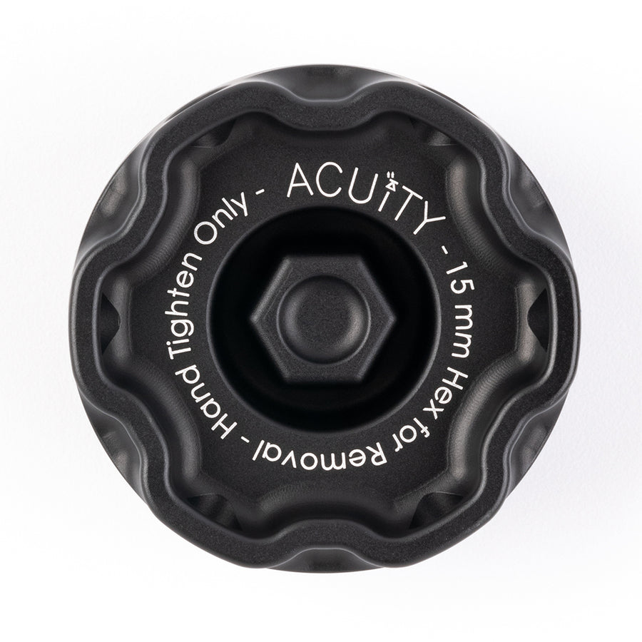 Podium Oil Cap in Satin Black for Hondas/Acuras