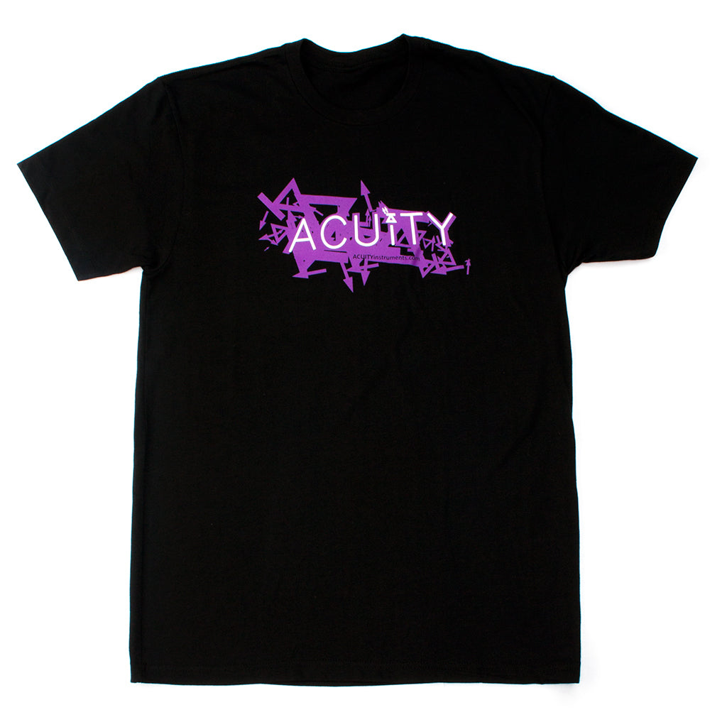 ACUITY Scatter T-Shirt - Black