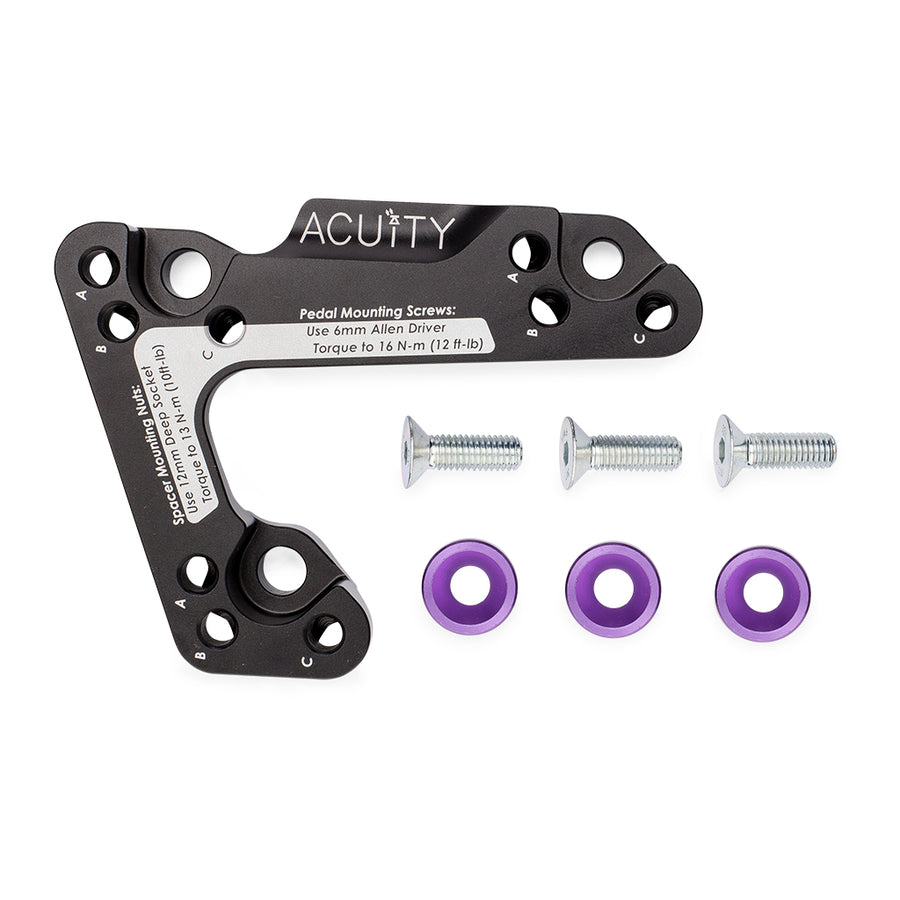 Throttle Pedal Spacer for the Left-Hand-Drive 10th Gen Civic