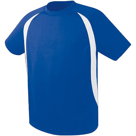 Soccer Jersey ADULT Blue Travel