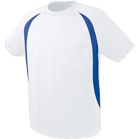 Soccer Jersey ADULT White Travel