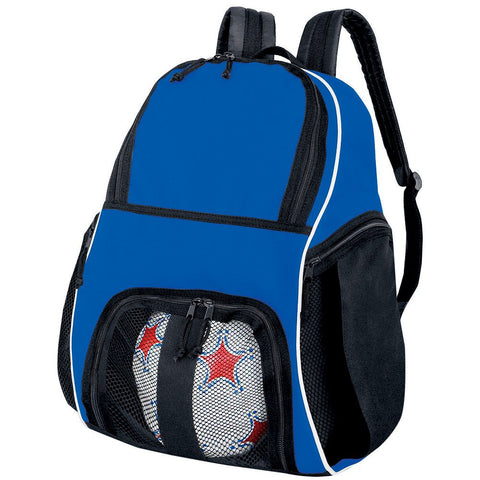 Soccer Back Pack Royal Blue