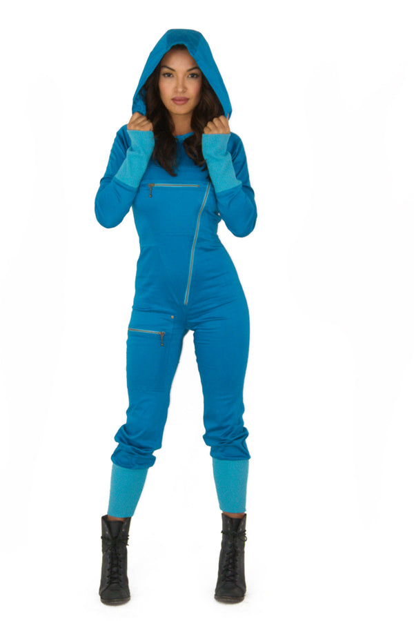Moon Suit Electric Blue