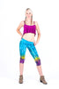 Tie Dye Ruched Legging Short