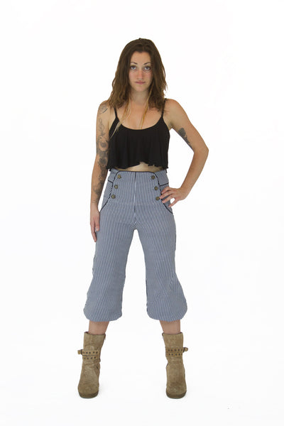 Bridget Pant Crop High Waist