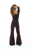 Bridget Pant High Waist Brown
