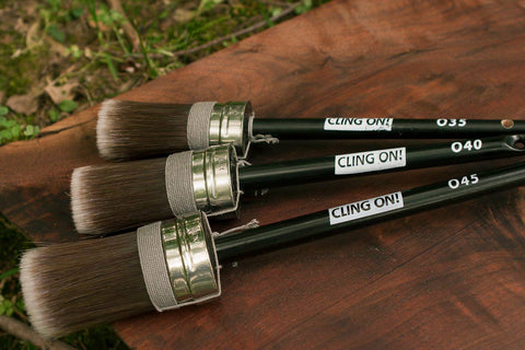 Cling On! O-Series Oval Brushes