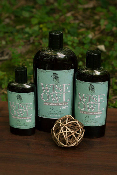 Wise Owl Natural Hemp Seed Oil - Collette's Cottage