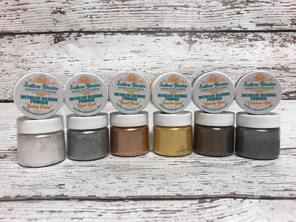 NEW! Metallic Gilding Powder by Southern Blenders