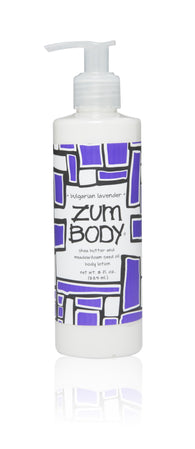 ZUM Body Lotion - Bulgarian Lavender - 8 fl.oz. - Collette's Cottage