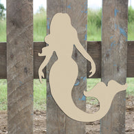 Mermaid Cutout - Unfinished