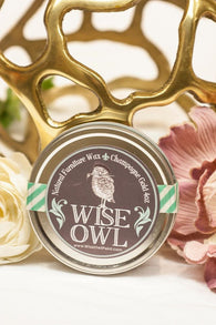 Wise Owl Metallic Natural Furniture Wax