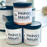 Wise Owl Heavy Metals Metallic Gilding Paint - 8 oz.