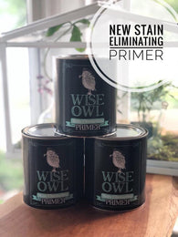 Wise Owl Stain Eliminating Primer - White, Clear, or Gray