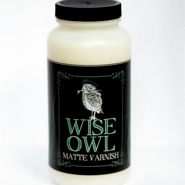 Wise Owl Varnish - Matte and Satin