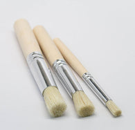 Stencil Brush Set, set of 3