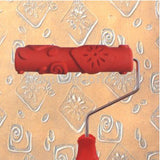"7"" Decorative Embossing Roller with Handle"