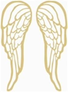 Angel Wings Cutout - Pair