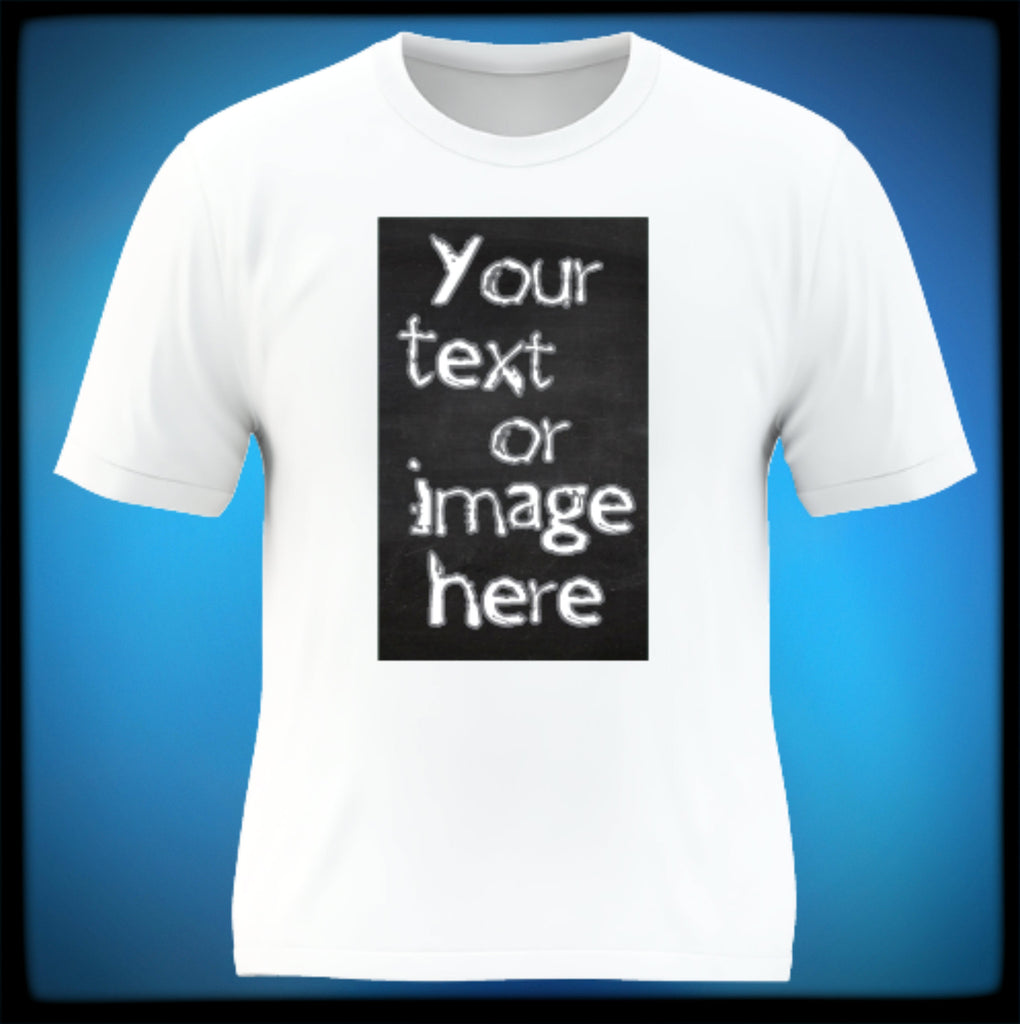 Design your own t-shirt maker - Personalized T Shirt Featuring Your Own Full Color Image