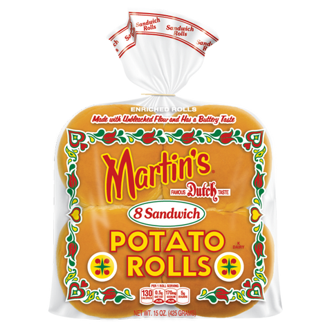 MARTINS SANDWICH POTATO ROLLS