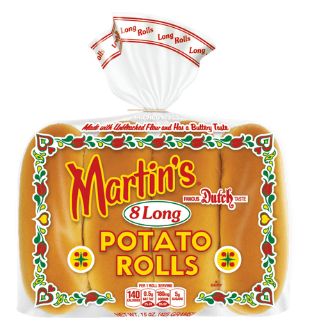 MARTINS HOT DOG POTATO ROLLS