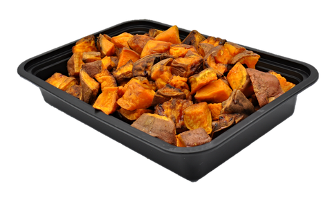 ROASTED SKIN ON SWEET POTATO BY THE POUND