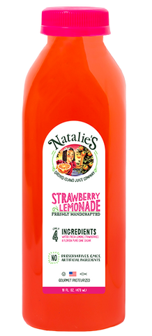 NATALIES STRAWBERRY LEMONADE - 16 OZ