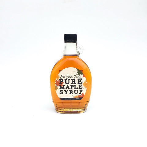 OLD STATE FARMS - PURE PENNSYLVANIA MAPLE SYRUP - 8 OZ