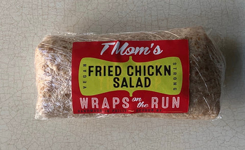 TMOMS VEGAN FRIED CHICKN SALAD WRAP