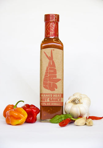 HANK SAUCE - HANK'S HEAT HOT SAUCE