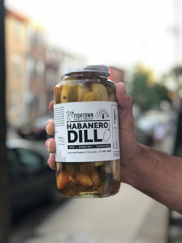 FISHTOWN PICKLE PROJECT - HABANERO DILL