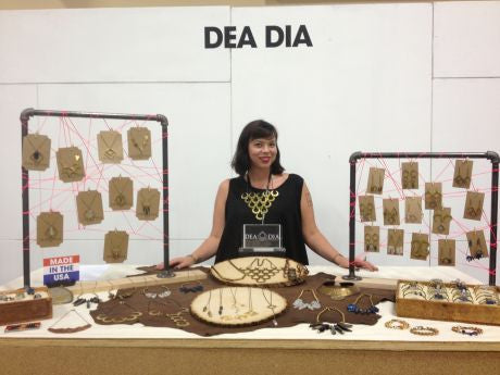 Bust: Meet Your Maker: 5 Questions for Jessica Lawson of Dea Dia Jewelry