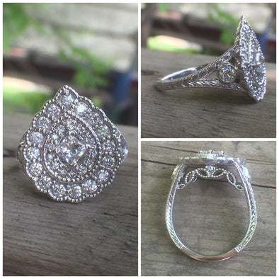 "A ""Pear""fect Way To Reimagine A Wedding Set"